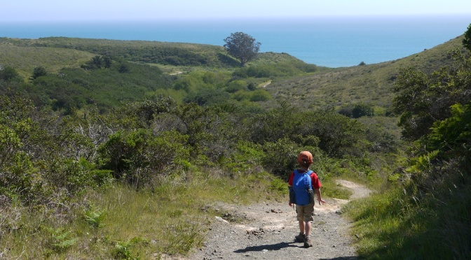 Nine tips for backpacking with a five year old