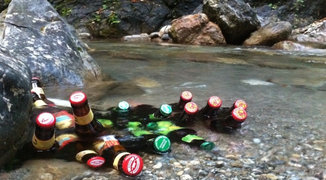 Cold beer, clean water and natural capital