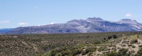 Mono Inyo Craters -- the youngest mountains in north America?