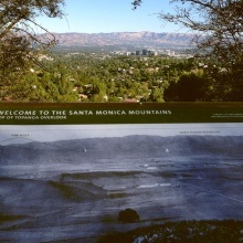 The Fernando Valley from Topanga Overlook