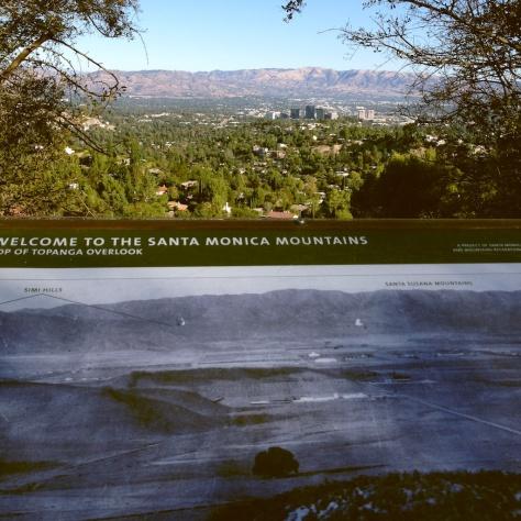 The Fernando Valley from Topanga Overlook