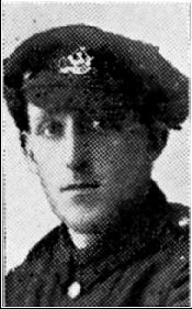 Private Harold Hoyle, Duke of Wellington's Regiment.